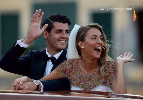 عکس مراسم ازدواج آلوارو موراتا