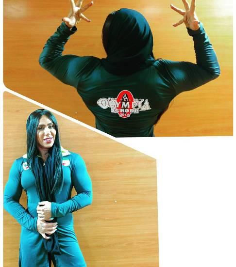 سارا مصطفی نژاد بدنساز ایرانی