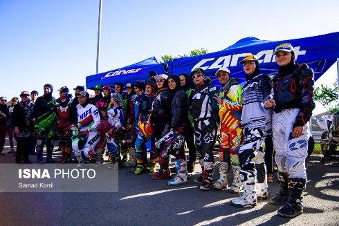 مسابقات موتورکراس زنان 4
