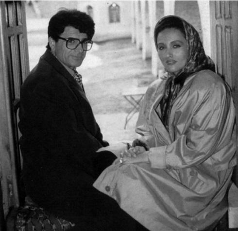 محمدرضا شجریان و همسر دومش کتایون خوانساری