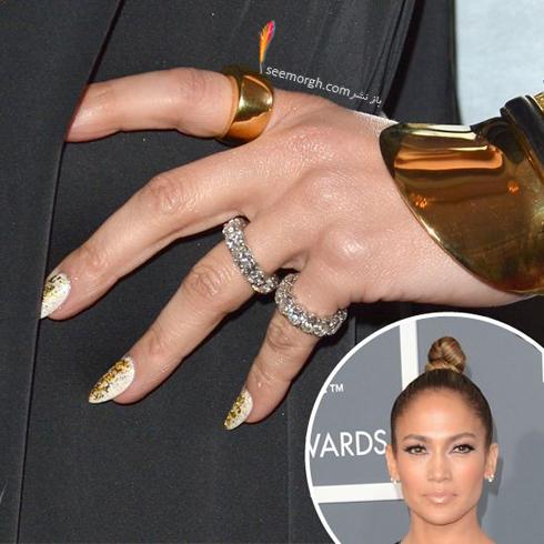 طراحی ناخن به سبک جنیفر لوپز Jennifer Lopez - عکس شماره 3