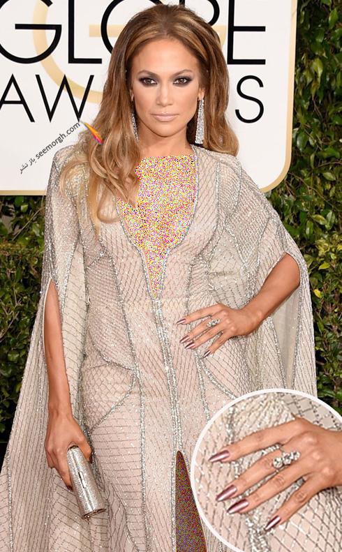 طراحی ناخن به سبک جنیفر لوپز Jennifer Lopez - عکس شماره 6