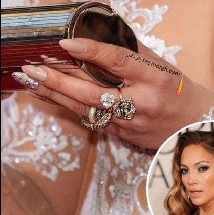 طراحی ناخن به سبک جنیفر لوپز Jennifer Lopez - عکس شماره 2