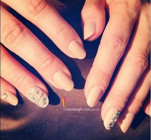 طراحی ناخن به سبک جنیفر لوپز Jennifer Lopez - عکس شماره 1