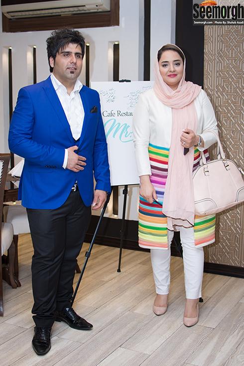 نرگس محمدی و سعید اظهری
