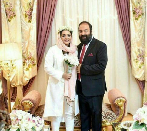 مراسم عقد نرگس محمدی و علی اوجی 2