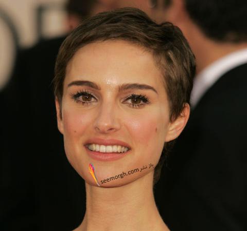 مدل مو کوتاه Natalie Portman ناتالی پورتمن