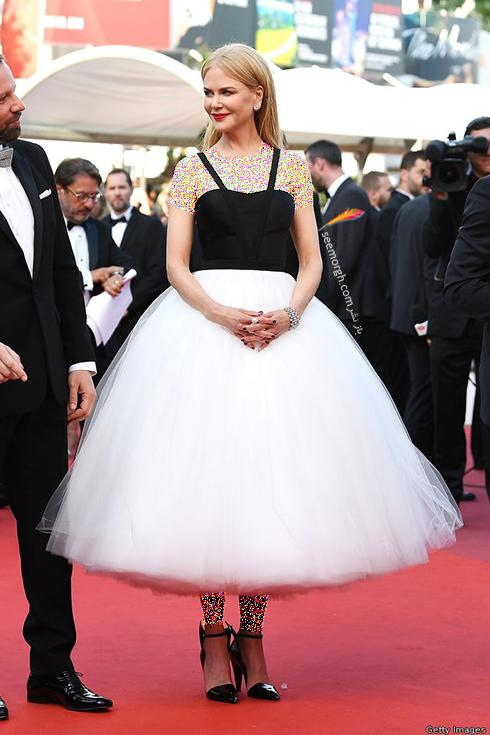مدل لباس نیکول کیدمن Nicol Kidman در ششمین روز جشنواره کن 2017 Cannes