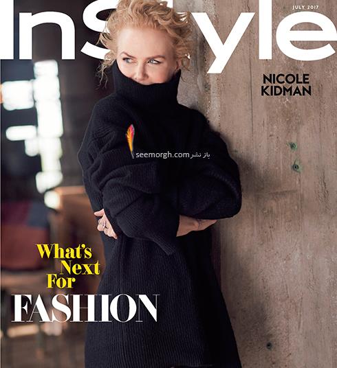 جدیدترین عکس های نیکول کیدمن Nicole Kidman برای مجله مد InStyle - عکس شماره 3