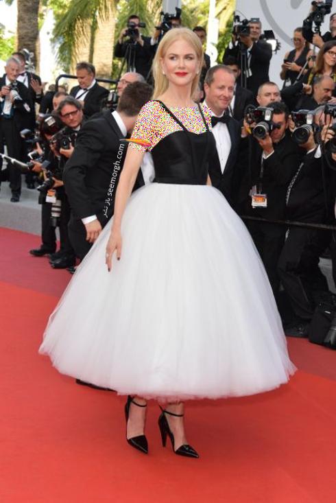 مدل لباس نیکول کیدمن Nicole Kidman در جشنواره کن 2017 Cannes