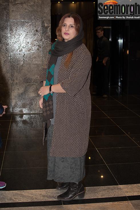 پریسا بخت آور همسر اصغر فرهادی در اکران فیلم وارونگی