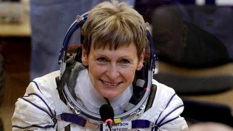 پگی ویتسون فضانورد 57 ساله آمریکایی
