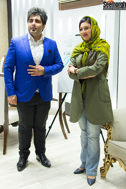 مریم اسدی و سعید اظهری