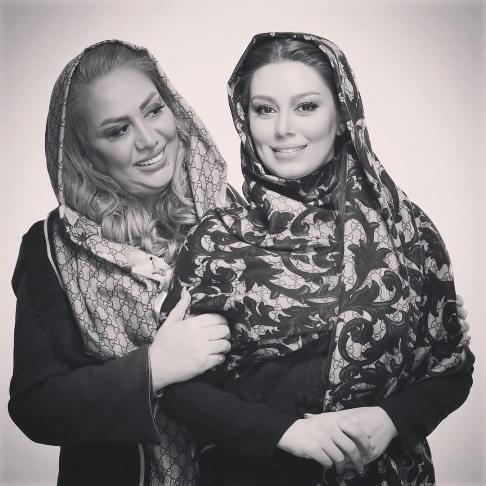 عکس جدید سحر قریشی و مادرش در جشنواره فیلم فجر