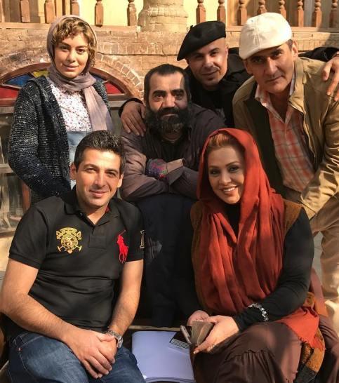 سحر قریشی و حمید گودرزی در فیلم نیوکاسل