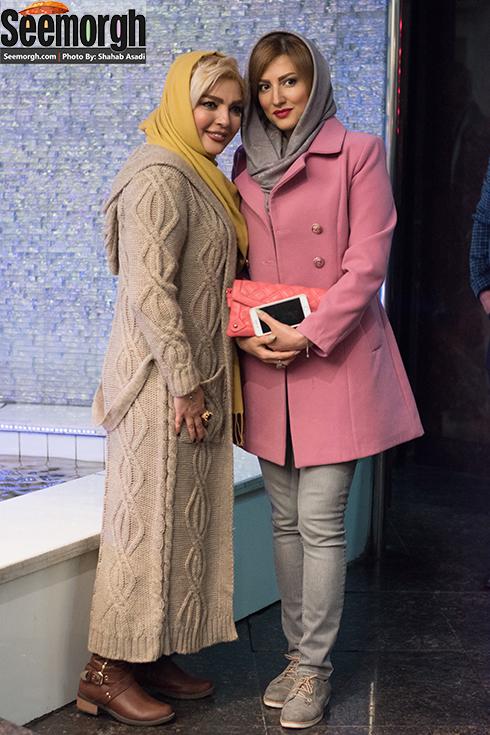 شهرزاد عبدالمجید در اکران فیلم لاک قرمز ,  عکس سمیرا حسینی ,  عکس شهرزاد عبدالمجید , عکس شیوا ابراهیمی  , هنرمندان در اکران لاک قرمز