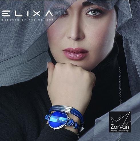 سارا منجزی مدل برند الیکسا Elixa - عکس شماره 8