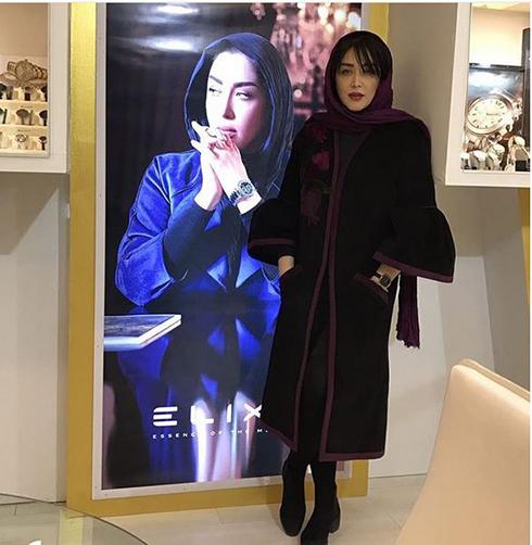 سارا منجزی مدل برند الیکسا Elixa - عکس شماره 7