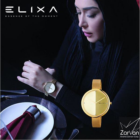 سارا منجزی مدل برند الیکسا Elixa - عکس شماره 4