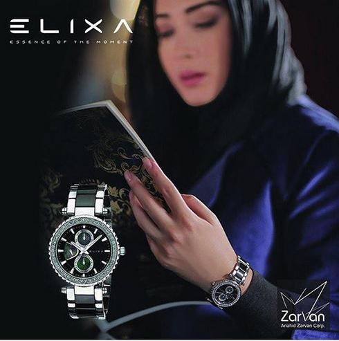 سارا منجزی مدل برند الیکسا Elixa - عکس شماره 2
