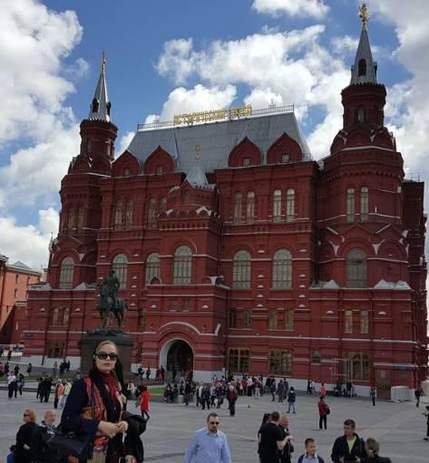 سپیده خداوردی در روسیه