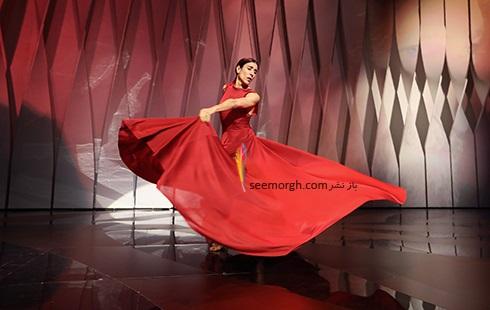 اجرای رقص اسپانیایی در مراسم افتتاحیه جشنواره کن 2017