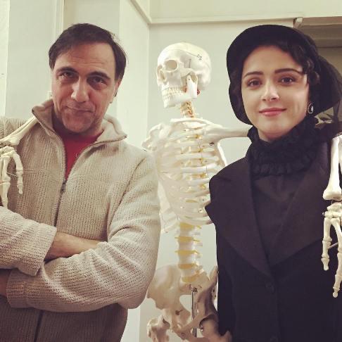 عکس ترانه علیدوستی در کنار حسن فتحی