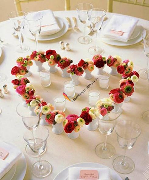 چیدن میز شام رمانتیک برای ولنتاین - ایده شماره 8