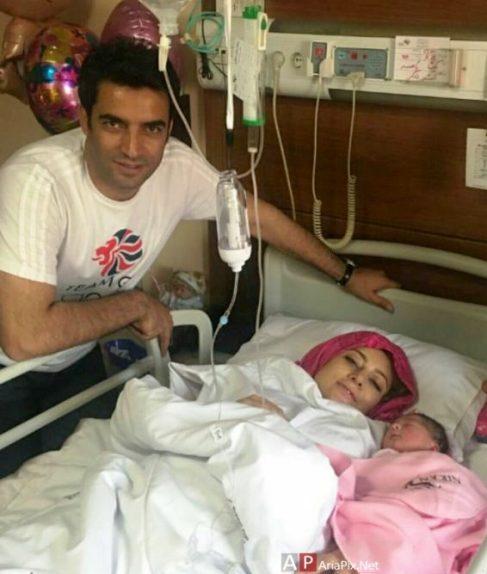 یکتا ناصر در کنار دخترش سوفیا