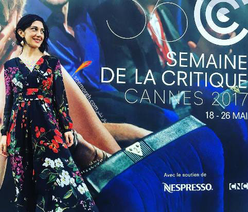 عکس زهرا امیر ابراهیمی در جشنواره کن 2017