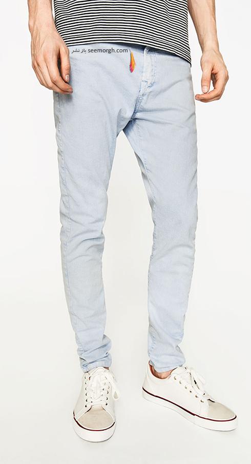 شلوار جین مردانه زارا Zara برای بهار 2017 - عکس شماره 9
