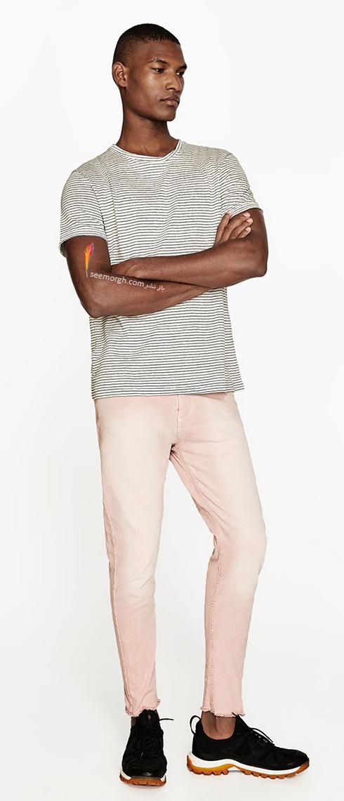شلوار جین مردانه زارا Zara برای بهار 2017 - عکس شماره 8