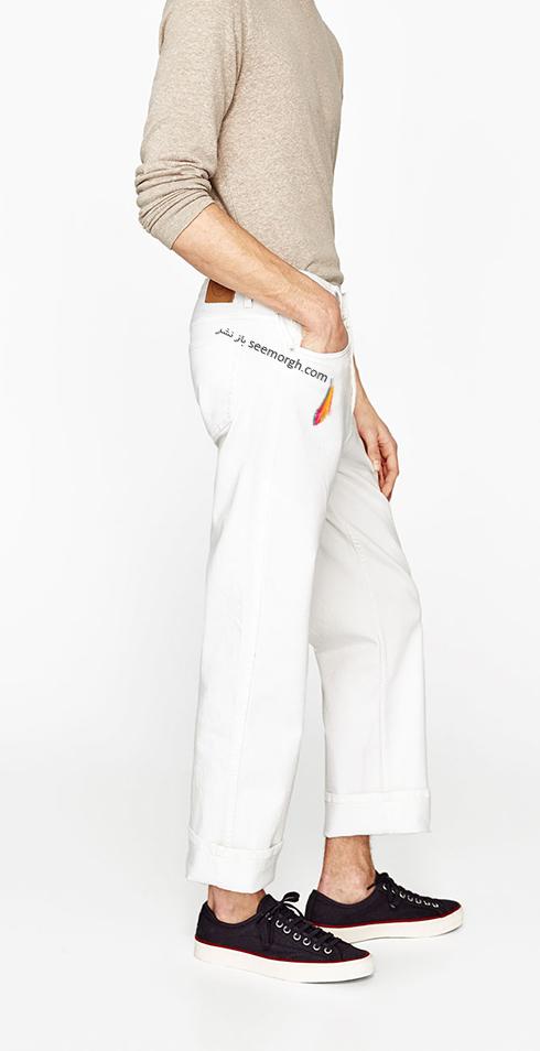 شلوار جین مردانه زارا Zara برای بهار 2017 - عکس شماره 5