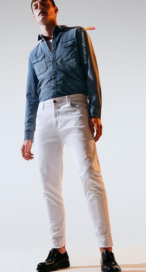 شلوار جین مردانه زارا Zara برای بهار 2017 - عکس شماره 4
