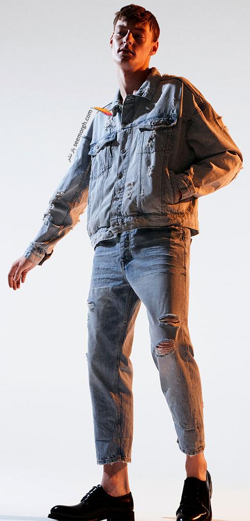 شلوار جین مردانه زارا Zara برای بهار 2017 - عکس شماره 2
