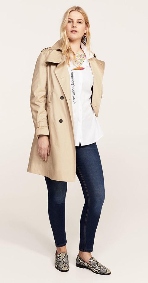 شلوار جین زنانه منگو برای خانم های سایز بزرگ - عکس شماره 2