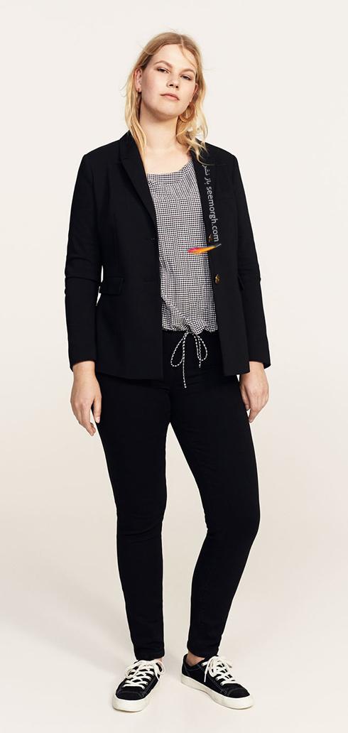 شلوار جین زنانه منگو برای خانم های سایز بزرگ - عکس شماره 6