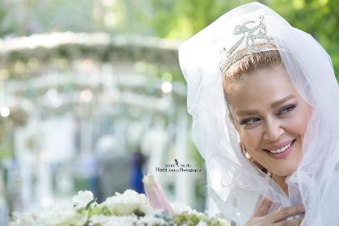 بهاره رهنما در جشن ازدواج اش