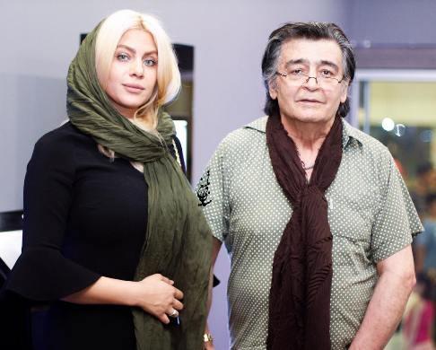 چهره جدید همسر رضا رویگری
