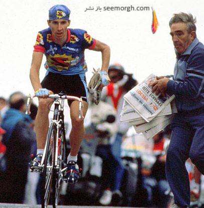 رابرت میلر در مسابقات دوچرخه سواری