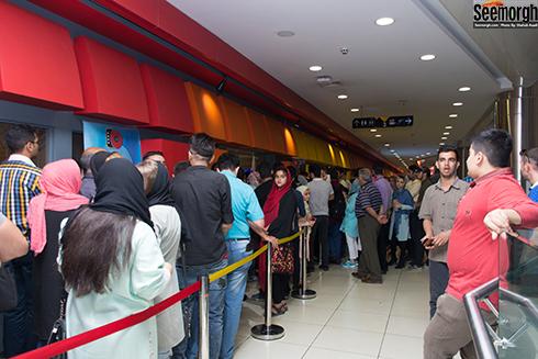 اکران مردمی سارا و آیدا در پردیس سینمایی کوروش