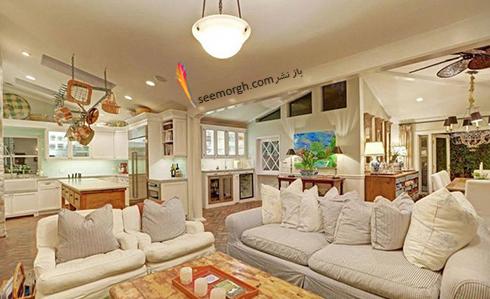 دکوراسیون داخلی خانه جدید سلنا گومز Selena Gomez - عکس شماره 7