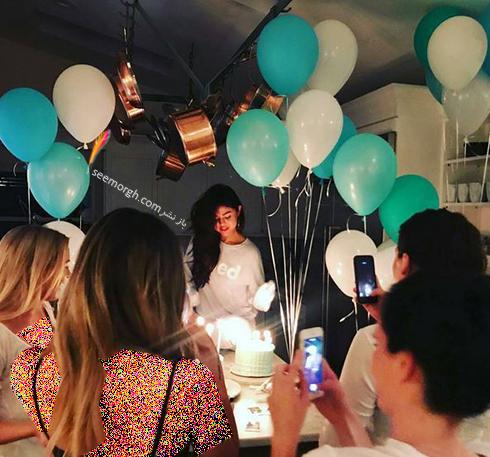 عکس جشن تولد سلنا گومز Selena Gomez - عکس شماره 2