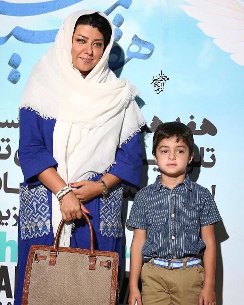 پريچهر قنبرى همسر و اميرعلى حسينى پسر شهاب حسینی