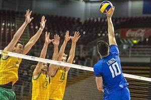 پیروزی ایتالیا برابر استرالیا در لیگ جهانی والیبال
