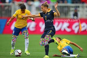 نخستین زن فوتبالیستی که تصویرش روی کاور فیفا 16 رفت + تصاویر