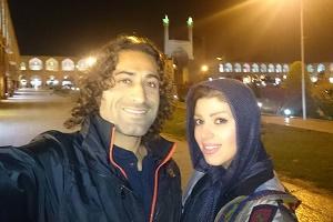 فوتبالیست ایرانی و همسرش در نیویورک + عکس