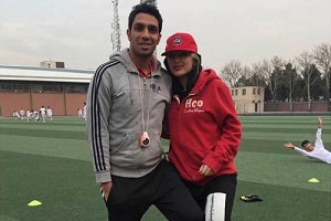عکس های جدید سپهر حیدری و همسرش