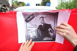محل دفن مهرداد اولادی + عکس
