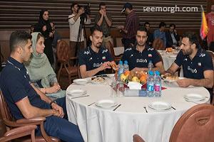 تصاویر ستاره های والیبال ایران و همسرانشان